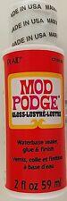 MOD PODGE Adhesive, Sealer & Gloss Finish Waterbase 2 oz Bottle