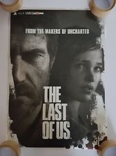 The Last of Us Double-Sided Promo Poster *Rare* (Rolled)