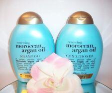 Moroccan Argan Oil Renewing Shampoo Conditioner Set Organix 13oz ea