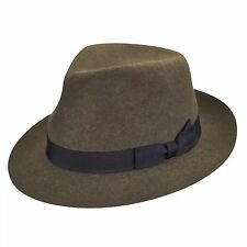 Bailey of Hollywood BERTRAM Fedora-Woodland Mix-LiteFelt-Large-NWT