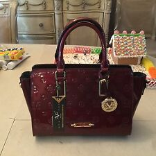 Brand New Authentic Women's Patent Leather Versace Handbag/Purse