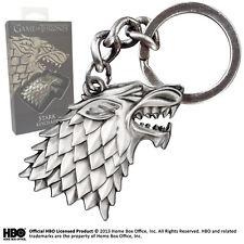 Game of Thrones Stark Sigil Keychain Keyring XT0084