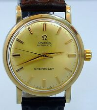 EXCELLENT ORIGINAL VINTAGE MEN 1969 OMEGA AUTOMATIC REF.LU6289 WATCH SERVICE 550