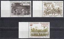 Polynesie Francaise - Nr. 610-612** Welt der Polynesier