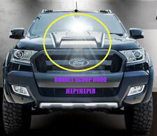 MATTEBLACK HOOD SCOOP BONNET COVER WILDTRAK FORD RANGER MK2 PX 2015 2016 Present