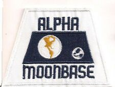 "Space:1999  Alpha Moonbase  3.5"" Uniform Patch- FREE S&H  (SPPA-1915)"