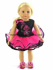 Bunny Rabbit Tutu Skirt Set Doll Clothes Made For 18 in American Girl Dolls