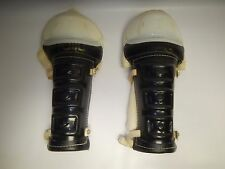 Clean Vintage Bobby Orr Rally Hockey Shin Knee Guards Pair Retro NHL Roller