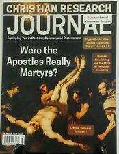Christian Research Journal Vol 39 No 2 Were Apostles Martyrs FREE SHIPPING sb