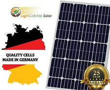 100W Watt Solar Panel Mono 12V Volt for Off Grid RV Boat Battery Charge Germany