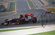 Jaime Alguersuari SIGNED 12x8 F1 Toro Rosso STR6 , Bahrain Grand Prix 2011