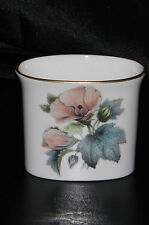 Royal Worcester Fine Bone China Oval Posy Vase 6.5cm 'Floral Design Pattern 51'