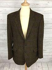 Mens Brook Taverner Harris Tweed Jacket/Blazer - 42L - Brown - Great Condition
