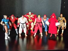 Marvel vs Capcom Street Fighter Lot Bison Chun Li Cammy Ryu Zangeif Dhalsim Ken