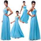 Sexy Long Chiffon Evening Dress Bridesmaid Wedding Party Ball Gown Formal Prom