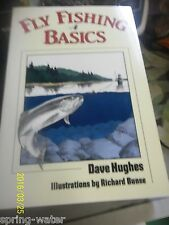Book-Fly Fishing Basics by Dave Hughes 213pgs.