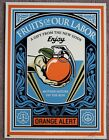 Obey Fruits of Our Labor print by Shepard Fairey signed and numbered