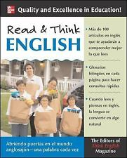 Read & Think English Book Only