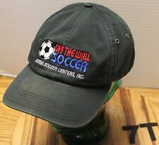 OFF THE WALL ARENA SOCCER CENTERS HAT BLACK ADJUSTABLE VERY GOOD CONDITION