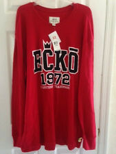 ecko Untld. 5 XL. long sleeve POLO style Red - Cotton Blend size 5 XL