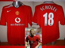 Manchester United Paul Scholes Jersey Shirt Adult XL Soccer Football Nike H