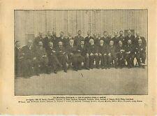 WWI Gouvernement Paul Painlevé:Claveille,Chaumet,Klotz,Breton 1917 ILLUSTRATION