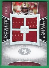 FRANK GORE ~JERSEY~ 2007 Exquisite Collection 49ers RARE 08/15