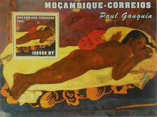 Paintings of Paul Gaugin painting Mozambique s/s Mi. 2169 / Scott 1507 #MOZ1227