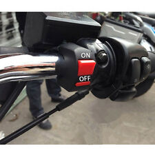 Useful Motorcycle Handlebar Mount ATV Dirt Bike Kill ON-OFF Button Switch ss