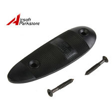 Durable Non-Slip Ribbed Slip Plastic Recoil Pad With Screw Gun Hunting Accessory