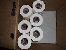 """WHITE ATHLETIC TAPE 162 rolls 1""""x25yds.    SPECIAL    * COSMETIC SECONDS*"""