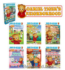 READY TO READ Pre Level 1 DANIEL TIGER Box Set Plays Ball,Thank You,Friends +
