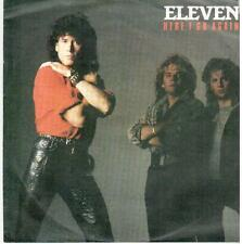 """1653  7"""" Single: eleven - Here I Go Again / Show Me The Way"""