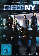 6 DVDs * CSI : NY - DIE KOMPLETTE SEASON 1# NEU OVP §
