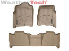 WeatherTech® Floor Mats FloorLiner - GMC Yukon w/ Bench Seats - 2007-2014 - Tan