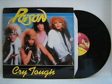 Poison - Cry Tough / Look What The Cat Dragged In, 12KUT127 Ex- A1/B1 Press 12""