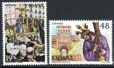 Spain Stamps - 1987Holy Weeks Festivals In MNH Condition