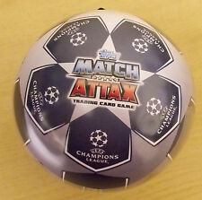 Topps 2016/2017 Uefa Champions League Match Attax ~ Ball Shaped Tin Inc 70 Cards