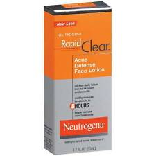Neutrogena Rapid Clear Acne Defense Face Lotion 1.7 Oz.