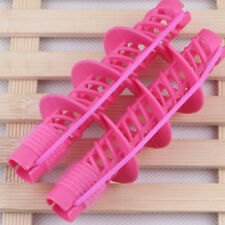 Women Beauty SPIRAL ROLLERS CURLS PERM RODS HAIR STYLING Big Wave Curls Tool New