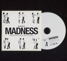 MADNESS - SHAME AND SCANDAL - FRENCH CD SINGLE WITH CARD PIC SLEEVE - TWO 2 TONE
