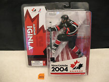Jarome IginlaTeam Canada 2004 Hockey Action Figure NEW 2005 McFarlane Toys