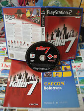 Playstation 2 PS2:Killer 7 [TOP CAPCOM & 1ERE EDITION] COMPLET - Fr
