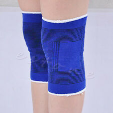 2pcs Elastic Calf Knee Support Sleeve Brace Guard Sprain Injury Sports Bandage