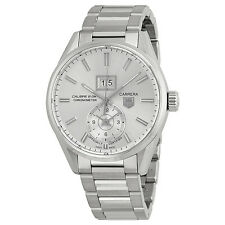 Tag Heuer Carrera Automatic Silver Dial Stainless Steel Mens Mens Watch