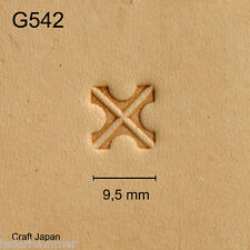 Punziereisen, Lederstempel, Punzierstempel, Leather Stamp, G542 - Craft Japan
