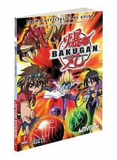 Prima Games Official Video Game Strategy Guide Book Bakugan Battle Brawlers EUC!
