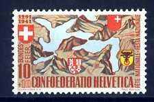 SWITZERLAND - SVIZZERA - 1941 - Lago dei Quattro Cantoni, con lo stemma. B3484