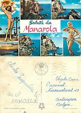 Manarola - PANORAMI - PIN UP - BROMOCOLOR - VIAGG BELGIO 1965  (E-L 056)