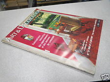 ART ET DECORATION N° 151 1970 conception appartement maison de campagne enduit *